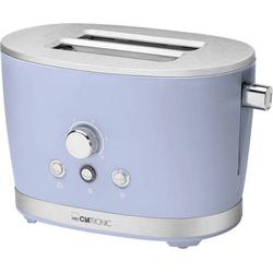Clatronic TA 3690 Toaster mit Brötchenaufsatz Blau