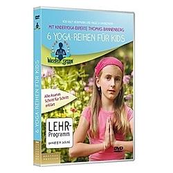 6 Yoga-Reihen für Kids