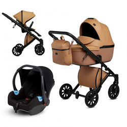 Anex e/type 3 in 1 Kinderwagenset 2020 (9 Farben) Caramel
