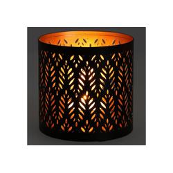 Guru-Shop Windlicht Filigranes orientalisches Metall..