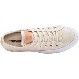 Converse Chuck Taylor All Star Lift OX Herringbone Mesh beige/ white, 41