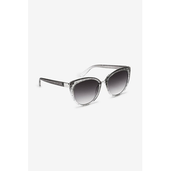Next Sonnenbrille Glitzernde Cateye-Sonnenbrille grau