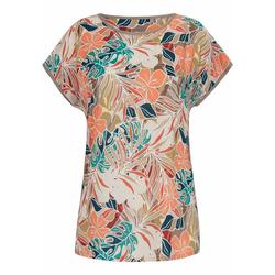 Kurzarmbluse Blusen-Shirt Anna Aura multicolor