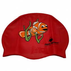 # Aqua Sphere Classic Junior - Schwimm- & Badekappe - rot