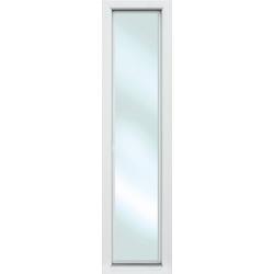 KM MEETH ZAUN GMBH Seitenteile S01, für Alu-Haustür, BxH: 60x198 cm, weiß weiß