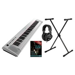 Yamaha NP 32 Portable Piano weiß Set