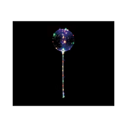 Happy People Luftballon Leuchtballon mit Lichterkette, transparent weiß
