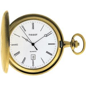 Tissot T83.4.508.13 Taschenuhr Savonette Quarz
