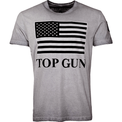Top Gun Search, T-Shirt - Grau - XL