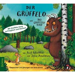 Der Grüffelo und Das Grüffelokind als Hörbuch CD von Axel Scheffler/ Julia Donaldson