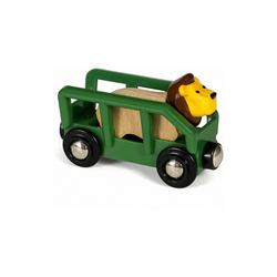BRIO® Spielzeug-Eisenbahn Tierwaggon Löwe