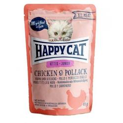 HAPPY CAT All Meat Kitten/Junior Huhn & Seelachs 85 g
