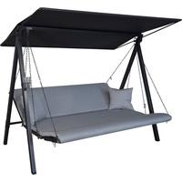 Angerer Lounge Zip granit 3-Sitzer
