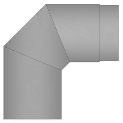 Oranier Ofenrohr Bogen, 150 mm, 90°, für Kaminöfen