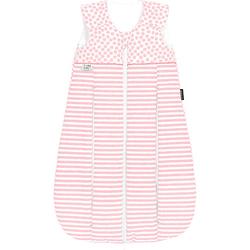 Thinsulate-Schlafsack primaklima, stripes powder rosa/weiß Gr. 110