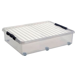 sunware Aufbewahrungsbox 60,0 l transparent 50,0 x 80,0 x 20,0 cm