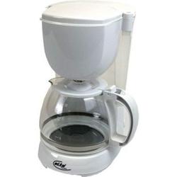 Elta Kaffeemaschine Edelstahl Filterkaffeemaschine Glas Kanne Kaffee Maschine