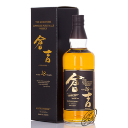 The Kurayoshi 18 YO Pure Malt Whisky 50% vol. 0,70l
