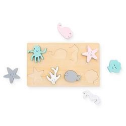 Jollein Puzzle holz Sea animals