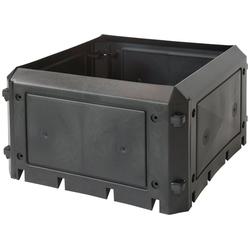KHW Komposter Bio Quick Aufbauset, BxTxH: 75x75x45 cm, 230 l