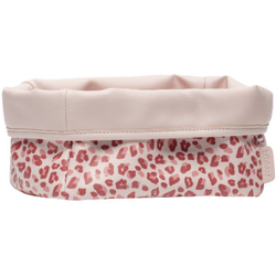 bébé-jou® Pflegekörbchen Leopard Pink