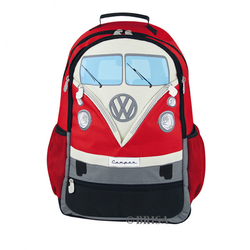 VW Bulli T1 Rucksack rot