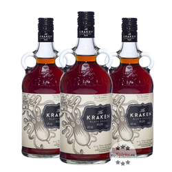Kraken Black Spiced 3 x 0,7l