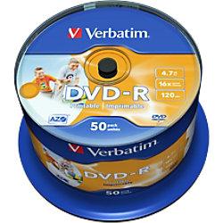 Verbatim DVD-R Bedruckbar 4.7 GB 50 Stück