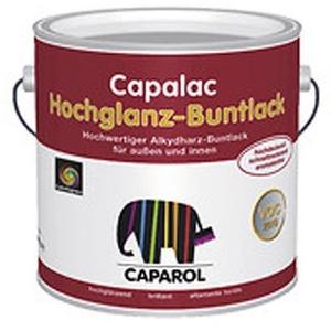 Caparol Capalac Buntlack hochglänzend, 375 ml Farbwahl, Farbe (RAL):RAL 6005 Moosgrün