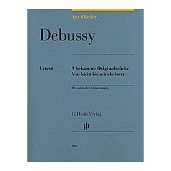 Am Klavier - Debussy. Claude - Am Klavier - 9 bekannte Originalstücke Debussy  - Buch