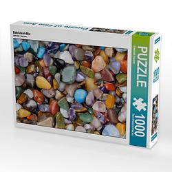 Edelstein-Mix Lege-Größe 64 x 48 cm Foto-Puzzle Bild von Elisabeth Stanzer Puzzle