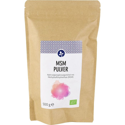 MSM PULVER 100% Methylsulfonylmethan 500 g
