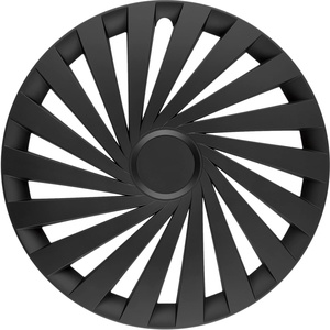 in.pro. engineering Radzierblende Empire Black 17 Zoll Schwarz Set 4 Stück