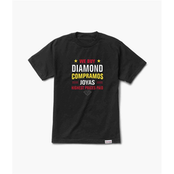 Tshirt DIAMOND - Jewelers Row Tee Black (BLK) Größe: S