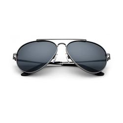 Teletrogy Pilotenbrille Polarisiert Pilotenbrille Sonnenbrille Herren, Fliegerbrille grau