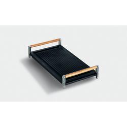 BB3679 Grillplatte aus Gusseisen mit Holzgriff