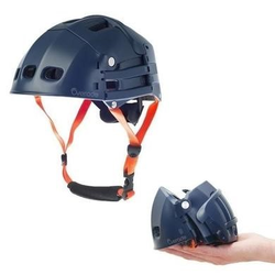 Overade Plixi Fit Helmet in Blue - S/M