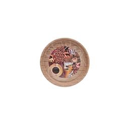 HTI-Living Tablett Tablett mit Kaffee-Motiv Espresso, Metall, Tablett