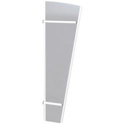 RORO Türen & Fenster Seitenblende Typ V171, TxH: 53x180 cm