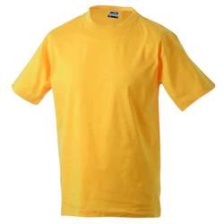 Basic T-Shirt S - 3XL | James & Nicholson goldgelb L