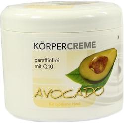 Avocado Körpercreme mit Q10
