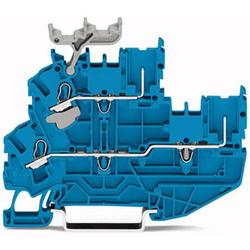 WAGO 2022-2204/999-953 Basisklemme 5.20mm Push-In-Klemme Blau 50St.