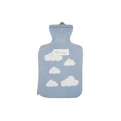 Wärmflasche Wärmflaschen blau/weiß