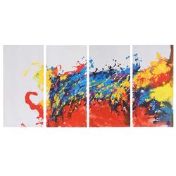 Ölgemälde Wave, 100% handgemaltes Wandbild Gemälde XL, 120x60cm
