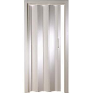 Kunststoff - Falttür ohne Fenster Luciana weiß 88,5x202 cm doppelwandig 10 mm; Made in Italy