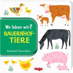 HABA Wo leben wir? Bauernhoftiere, bunt - bunt