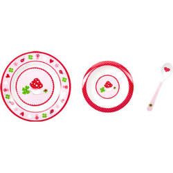 SPIEGELBURG COPPENRATH Mein erstes Geschirr rosa - BabyGlück