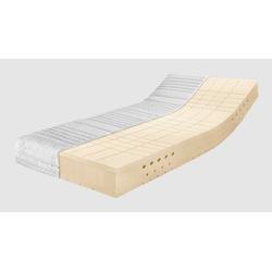 Latexmatratze Latexmatratze Premium TALALAY®, Ravensberger Matratzen, 23 cm hoch, mit Baumwoll-Doppeltuch-Bezug 90 cm x 200 cm x 23 cm