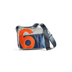 360° Damen Tasche Mini Barkasse weiß