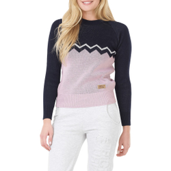 Picture Organic Clothing - Notch Dark Blue Pink - Pullover - Größe: L